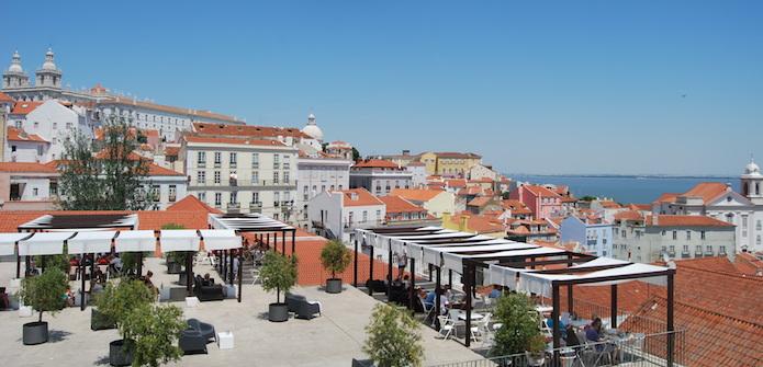 Portas do Sol, em Lisboa