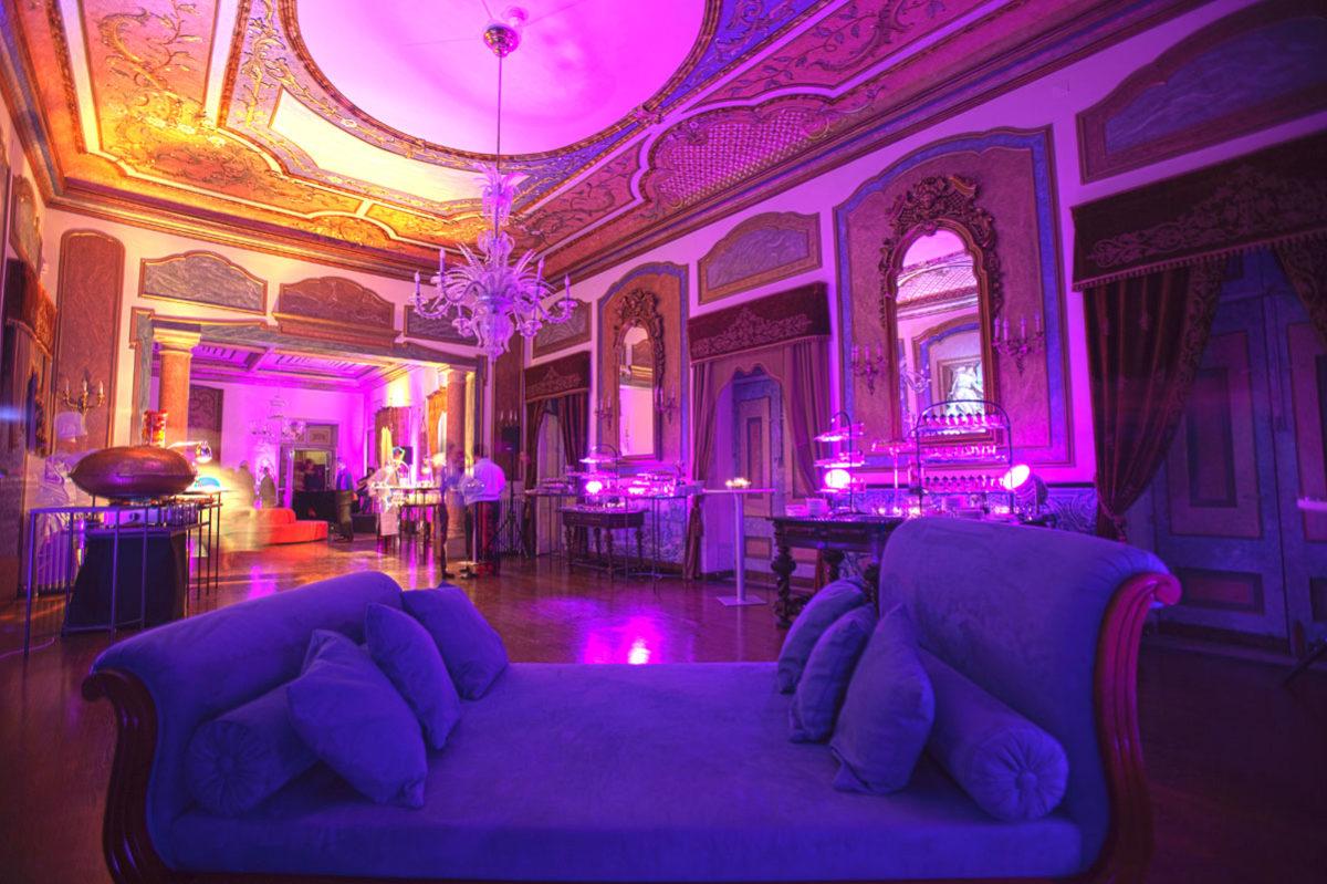 Jantar de gala num Palácio
