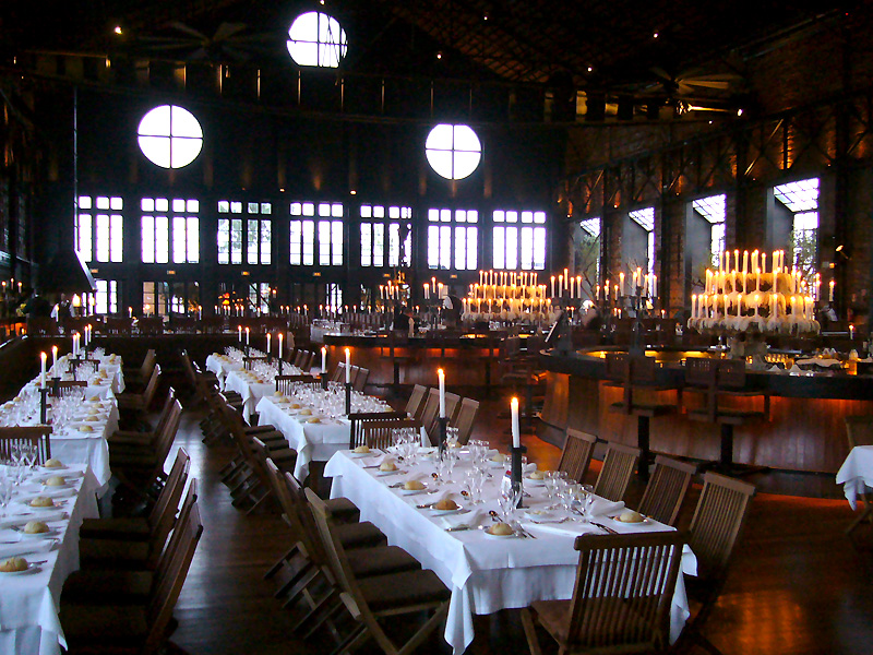 Jantar de Gala no Kais