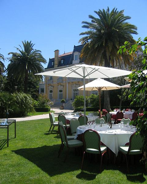 Almoço jardim Hotel Pestana